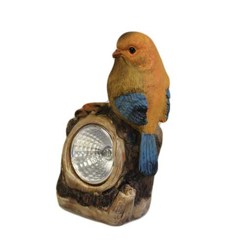 Solar Light - Orange Bird - Shopy Max