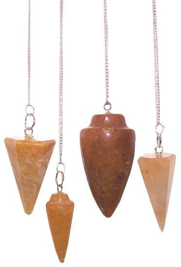 Yellow Quartz Magic Pendulum
