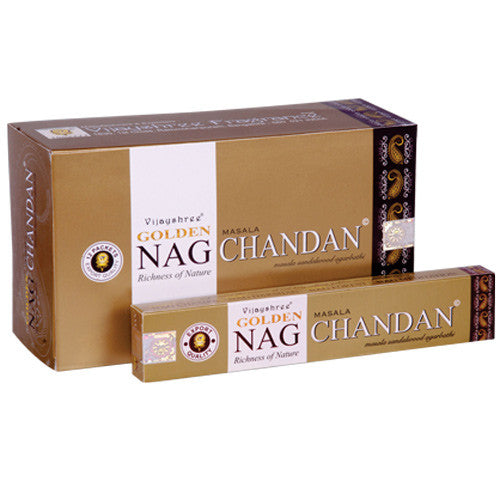 Golden Nag - CHANDAN 15g pack - Shopy Max