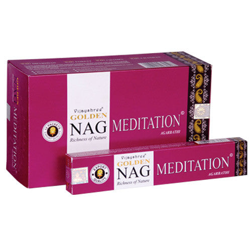 Golden Nag - Meditation 15g pack - Shopy Max