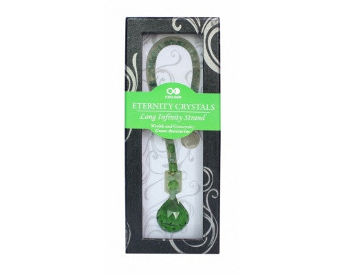 Green Eternity Crystal Sphere with Green Aventurine Tail - Shopy Max