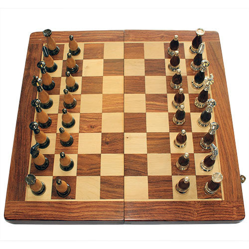 Luxury Large Wooden Chess Set - Shopy Max