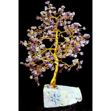 Amethyst Gemstone Tree (320 Stone)