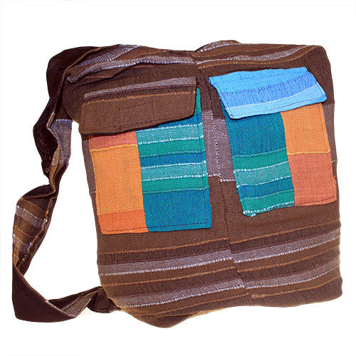 Ethnic Bag - Multi Patch - Rusty - Shopy Max