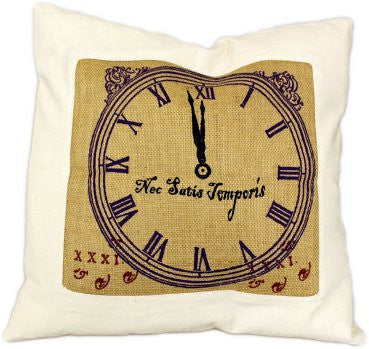 Cushion Cover - Never Enough Time