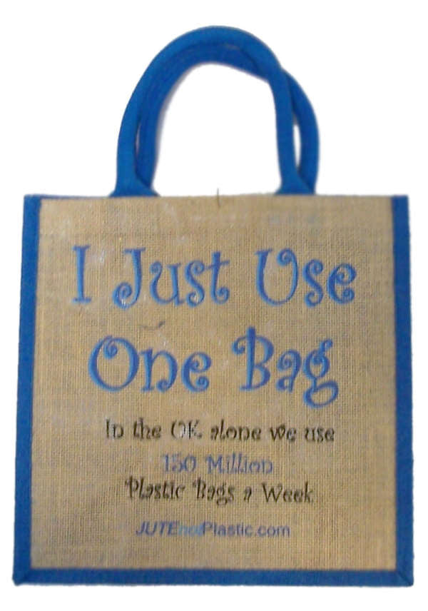 Jute Tantra Bag - I Just Use One Bag - Shopy Max