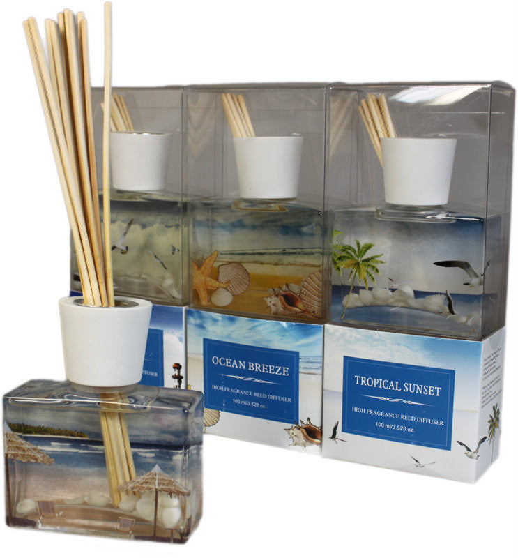 Tropical Sunset Reed Diffuser Set - Shopy Max