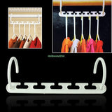 1pcs Triples Space Saving Wonder Hanger Closet Organizer Hook