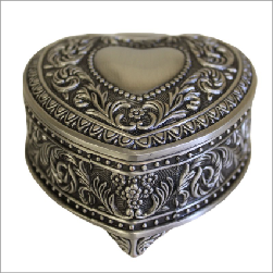 Jewellery Casket - Heart Chest - Shopy Max
