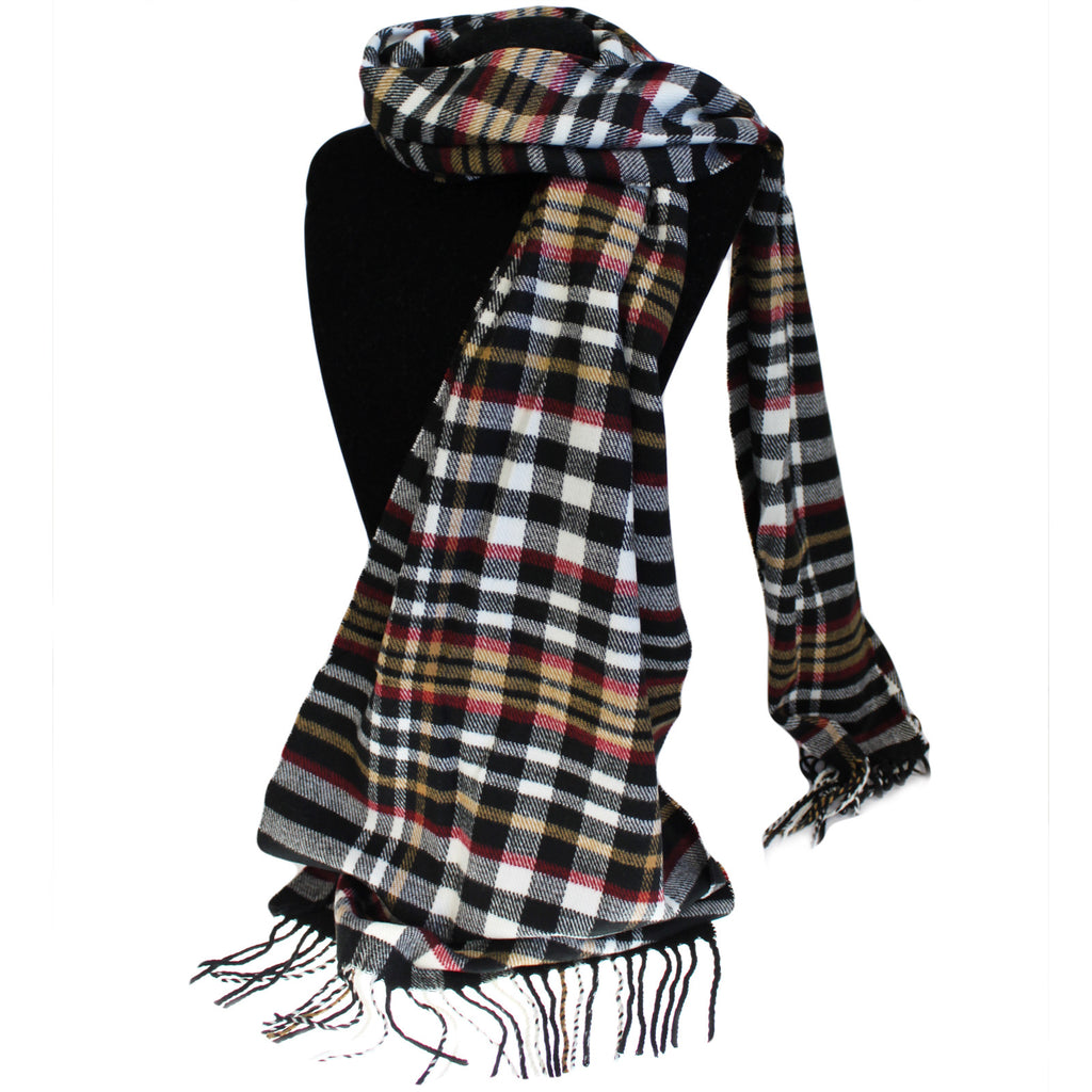 Men in Tartan Scarf - Mr Money Man