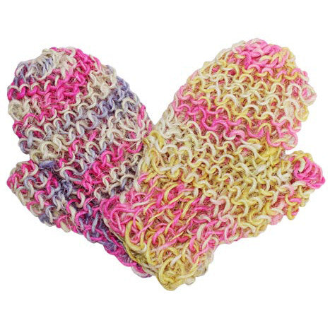 Fat Springy-Stringy Jute Glove - Colours