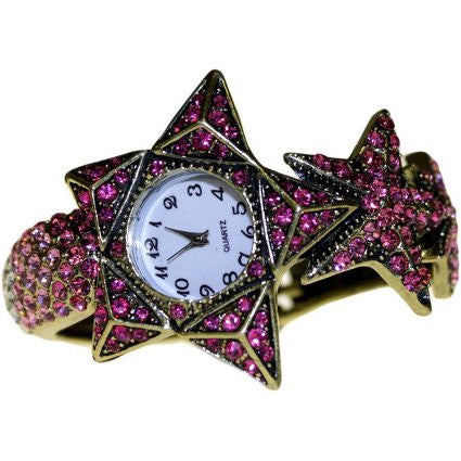 Bracelet Watch Retro Stars