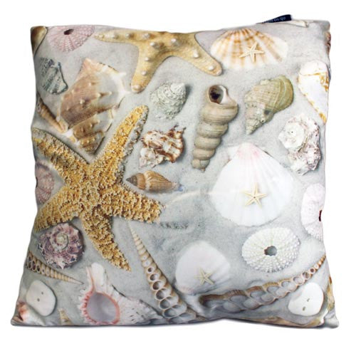 Art Cushion Cover - Shells in Sand - Shopy Max