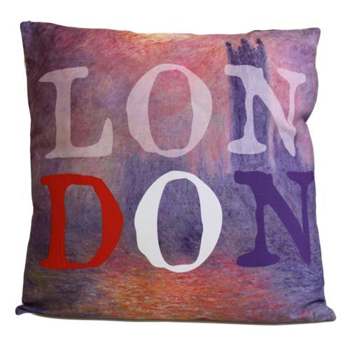 Art Cushion Cover - LONDON - Monet - Shopy Max