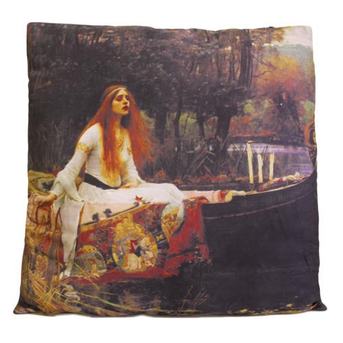 Art Cushion Cover - Lady of Shalott - Shopy Max