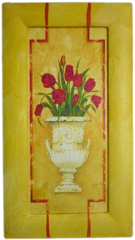 Pot Tulips - Medium 45cm x 25cm - Shopy Max