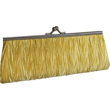 Classic Yellow Clutch Bag