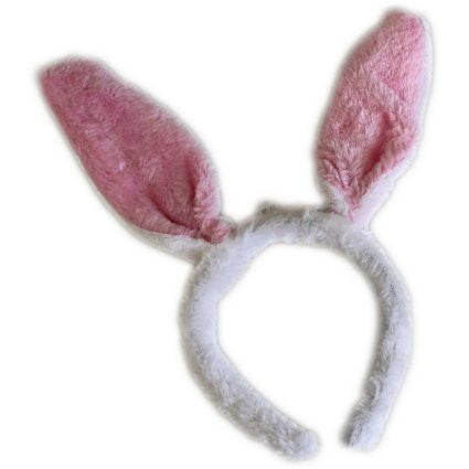 Party Hair Bands - Flashing Pink Ears - Shopy Max
