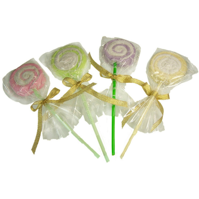 Towel Lolly Pops - Assorted - Shopy Max
