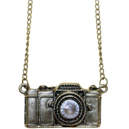 Retro Bling Pendants - Camera - Shopy Max