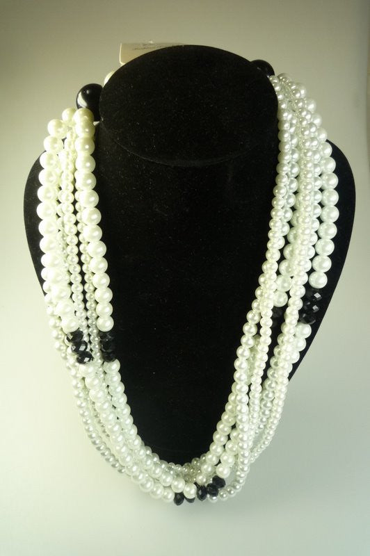 Perilous Pearls Multilink Short Necklace - Shopy Max