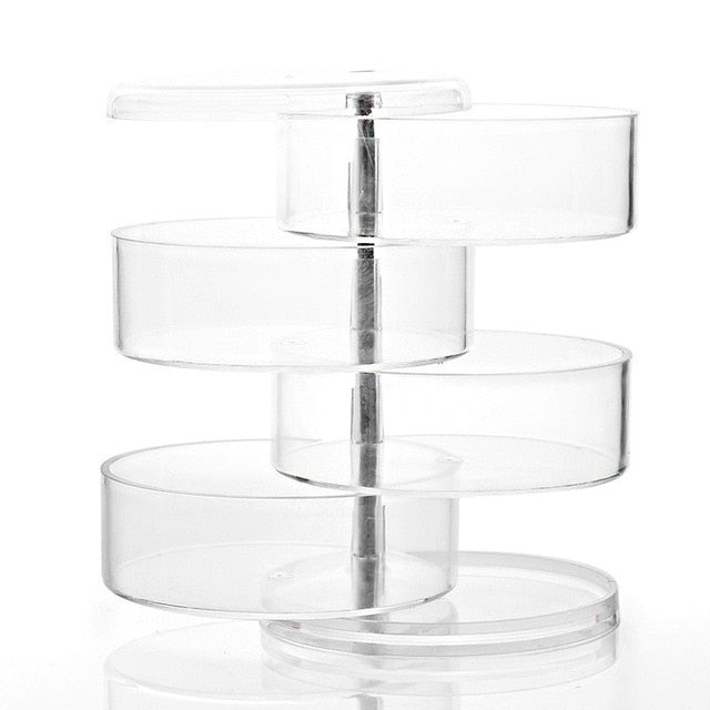 360 Degree Rotating Makeup Organizer Box