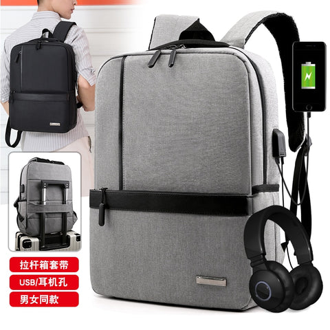 Litthing Slim Laptop Backpack Men Office Work Men Backpack Business