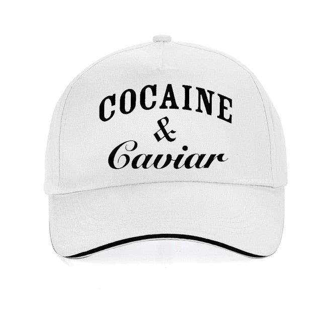 Cocaines & Caviar Brand Hip Hop Hat Men Women Baseball Caps Unisex Snapback hats Solid Colors