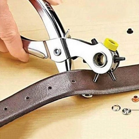 Useful Multi-function Portable Puncher Heavy Duty Leather Hole Punch