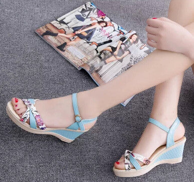2016 Summer Fashion White Shoes Flat Heel Flip Gladiator Brief Herringbone