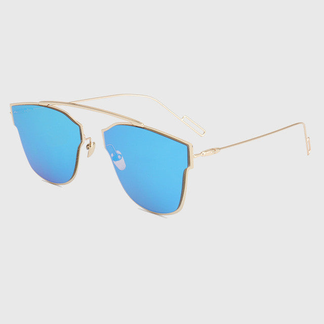 ROYAL GIRL High Quality Classic Metal Wire Frame Sunglasses Women ...
