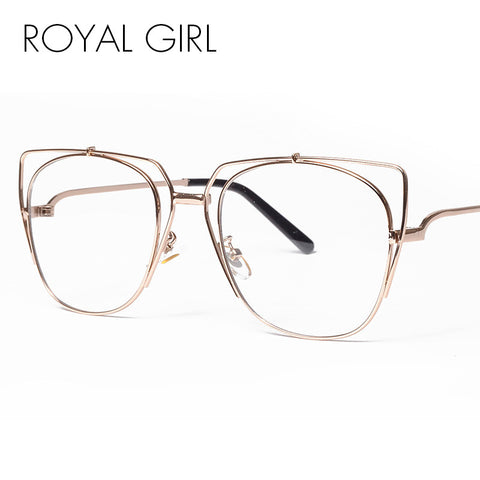 ROYAL GIRL Chic Metal eyeglasses frames Women ss123