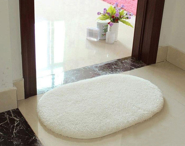 1Pcs 40*60CM Bathroom Carpets Absorbent Soft Memory Foam Doormat Floor