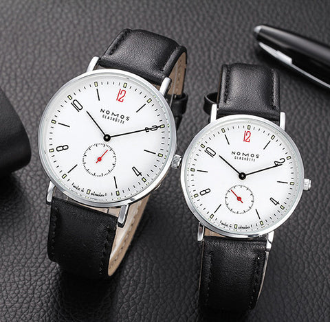 2016 New Top Luxury Brand NOMOS Quartz Watch For Men Women Lover Wrist