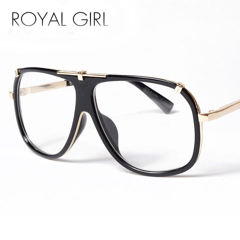 ROYAL GIRL Men EyeglassesFrames Women Optical Glasses  Women Brand Designer Square Shades UV400 Oculos Gafas De Sol ss272