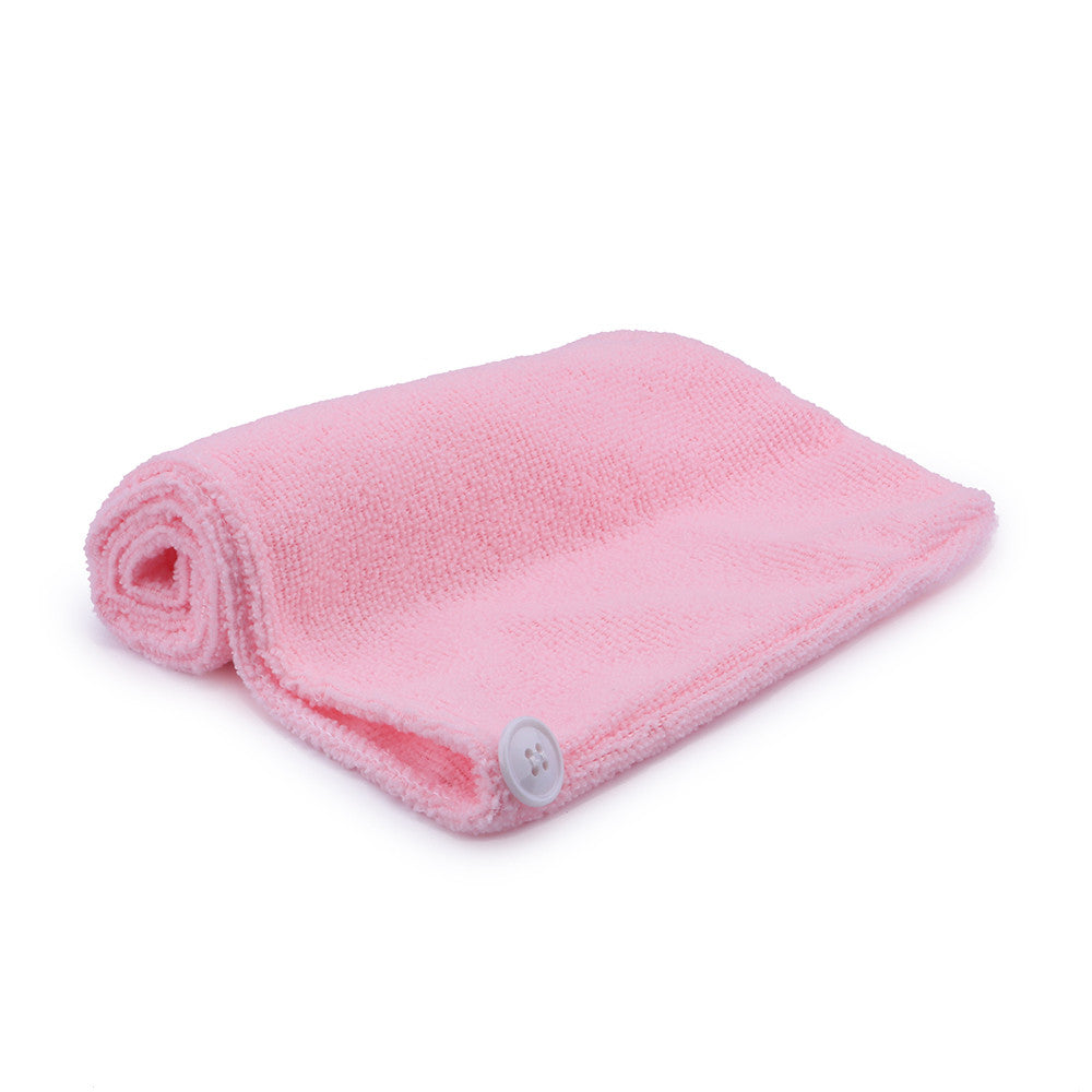 Hair Towel Microfiber Soft Twist Hair Turban Wrap Fast Drying Cap  for Women