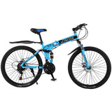 Hot Sale Altruism Mountain Bikes 26-Inch Steel 21-Speed Bicycles X9 Dual Disc Brakes Variable Speed
