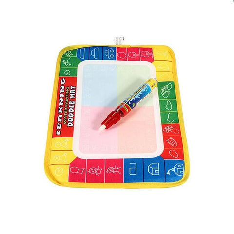 Water Drawing Painting Aquadoodle Mat Board & Pen Kids Boy Girl Children Toy
