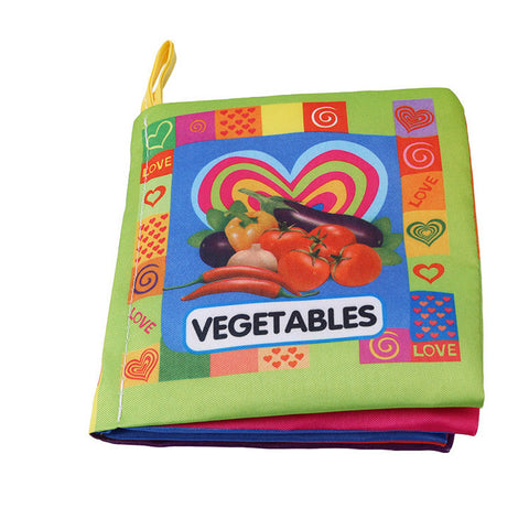 Baby Early Childhood Book Cloth Book Puzzle Tear Bad Early Learning Palm Book.