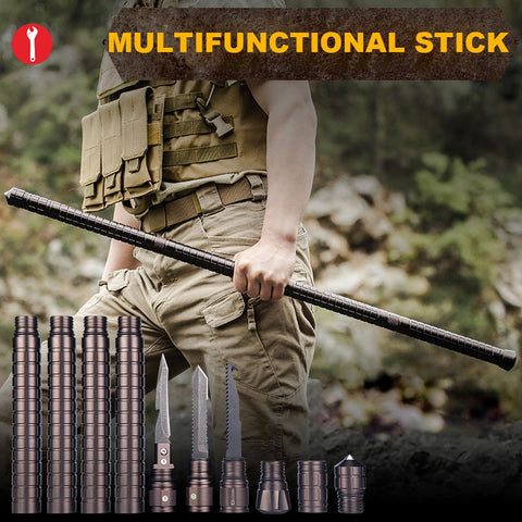Outdoor Camping DIY Self Defense Stick Safety Multi-Functional Home Car Defensive