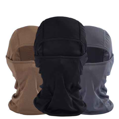 New Hot Sell Windproof Mask Quick-Drying Breathable Anti UV Soft Face Mask Cycling Motorcycle