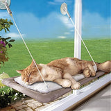 Practical Washable Funny Puppy Pet Hammock Window Mounted Cat Bed - Shopy Max