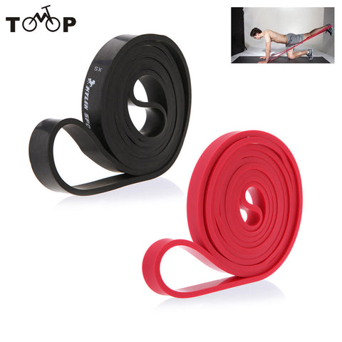 208cm Natural Latex Pull Up Physio Resistance Bands Fitness CrossFit Loop Bodybulding Yoga