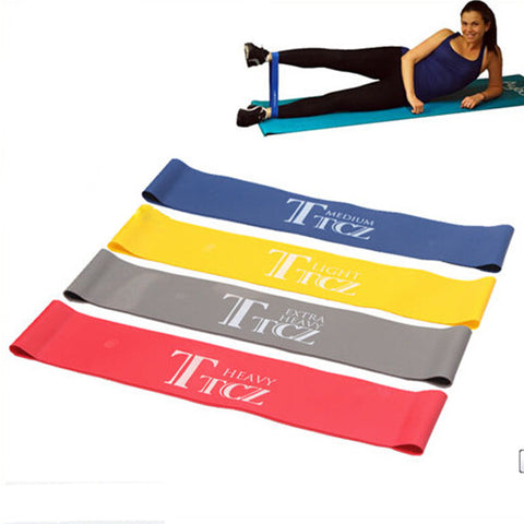 Elastic Band Tension Resistance Band Exercise Workout Ruber Loop Crossfit Strength Pilates