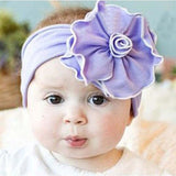 Beautiful Cut Peacock Feather Headband hairband Baby Kids Flower Infant Headbands