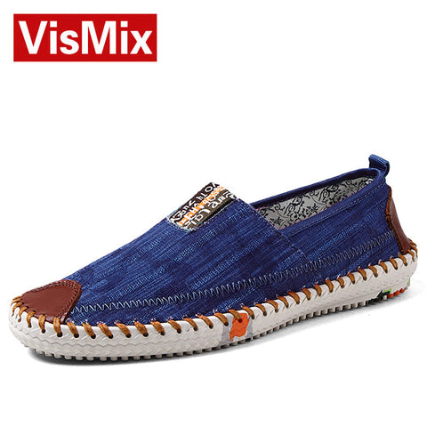 Mens Canvas Shoes Casual Fashion Summer Sneakers For Men  Classic Flat Shoes Slip On Shoes Shoe Male Espadrilles Free Shipping