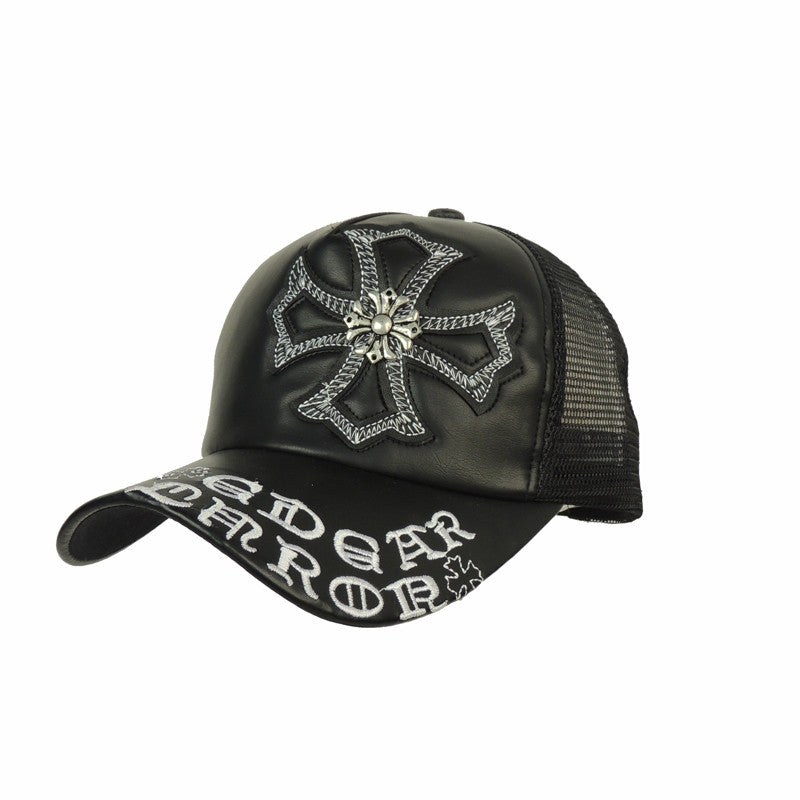 4df02d56bc6 High Quality Fashion Leather Caps Unisex Hats Baseball Caps For Men Women  Adult Sports Snapbacks One