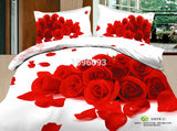 housse de couette, DHL-Free shipping Europe Luxury flowers Christmas - Shopy Max