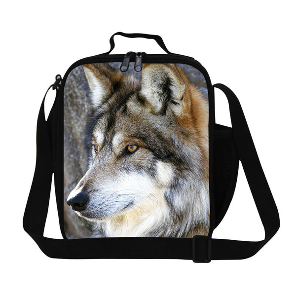 Best Wolf Print Lunch Boxes For Kidszoo Animal Teen Bagsperson