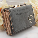 2015 Brand Designer Women Wallet Bags Best Leather Button Clutch Purse Lady Short Handbag Bag 9 Colors For Woman